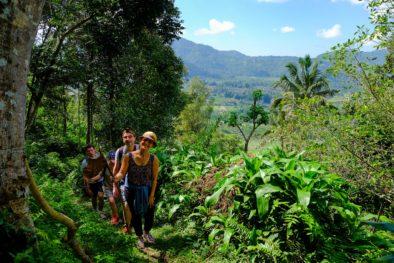 Trekking Sidemen - Sangkan Gunung Temple Circular Walk - Villa Umah Dewi Sri