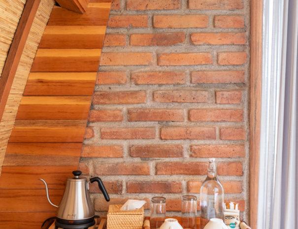 Tea & Coffee set in the bedroom