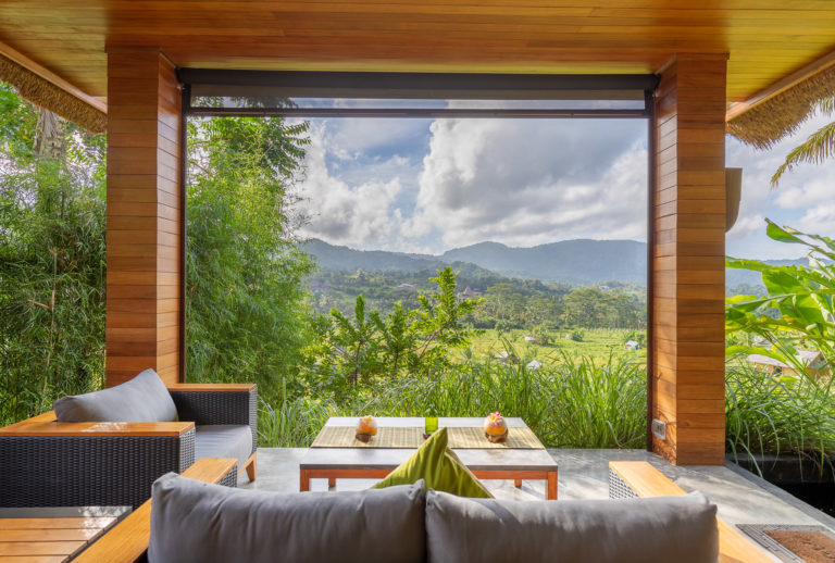 Villa Umah Dewi Sri Living Room Views - Sidemen - Bali